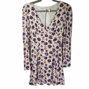Free People About That Girl Floral Dress 0